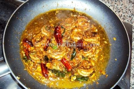Step 4 5 Star Prawns Fry Recipe