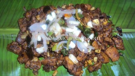 Step 5 Beef Vartharachu Varatiyathu Recipe