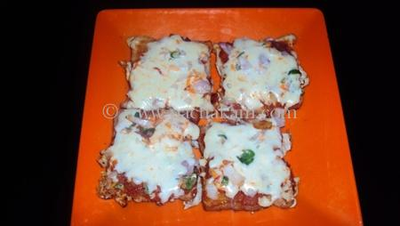 Step 4 Home Made Bread Pizza Recipe