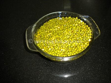 Step 1 Spicy Green Gram Curry - Nurtritious Recipe