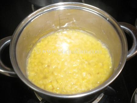 Step 1 Papaya With Toor Dal Curry Recipe